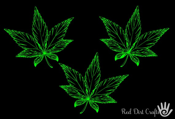 Cannabis Leaf Svg Marijuana Leaf Flower Weed Leaf Leaf Etsy