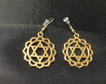Heart Chakra Earrings