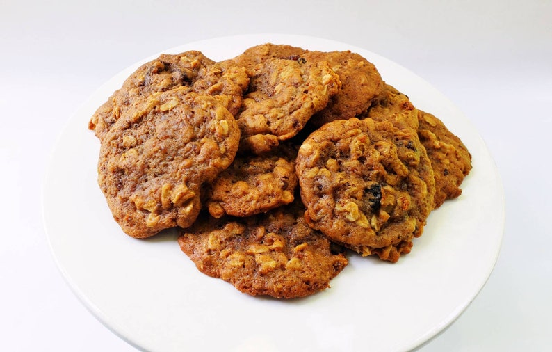 Oatmeal Raisin Cookies Soft /& Chewy Homemade