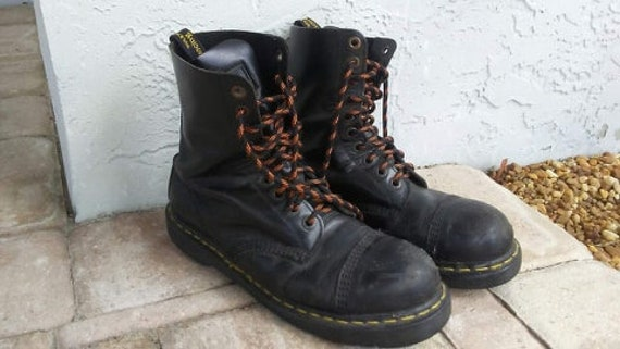 Vintage Doc Martins Leather Steel Toe Air Wair Pun