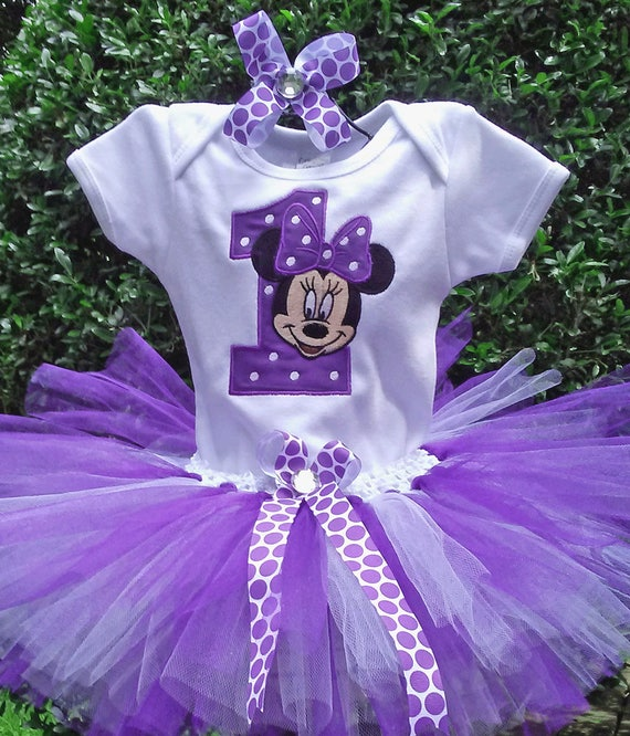 2693479fece Purple Minnie Mouse 1st Birthday Outfit Purple Minnie Mouse Birthday Outfit  Purple Minnie Mouse 1st Birthday Shirt Personalized Minnie Mouse