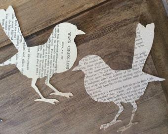Vintage Paper Birds Antique Bird Die Cuts Ephemera