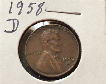 Items similar to Old Lincoln Wheat Cent Pennies 1950-P Mint
