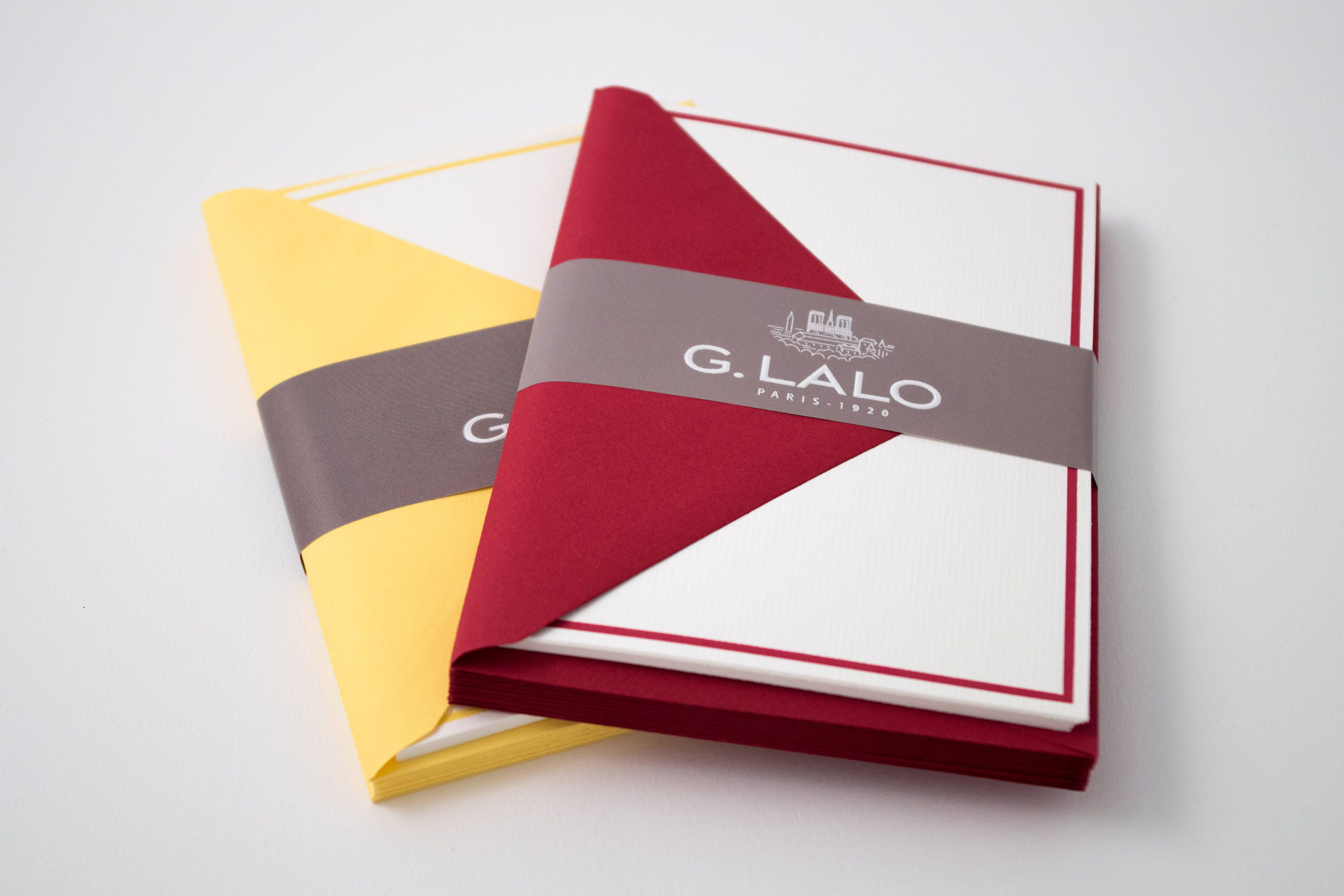 G. Lalo blank flat cards 4.25 x 6 with   Etsy