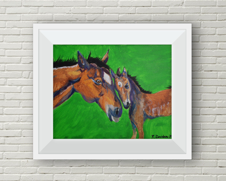 horse wall decor horse themed nursery room horse art horse ...