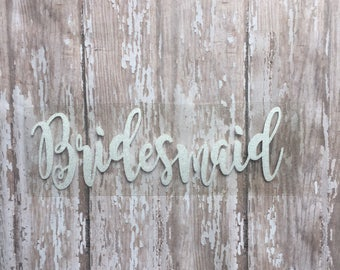 Bridesmaid Iron on Decal/ DIY Bridesmaid Shirt/ Wedding Party Decals/ DIY Wedding Day Shirts/ DIY Bridesmaid Gift