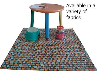 Splat mat / art & craft mat / tablecloth / high chair mat-Multiple patterns available