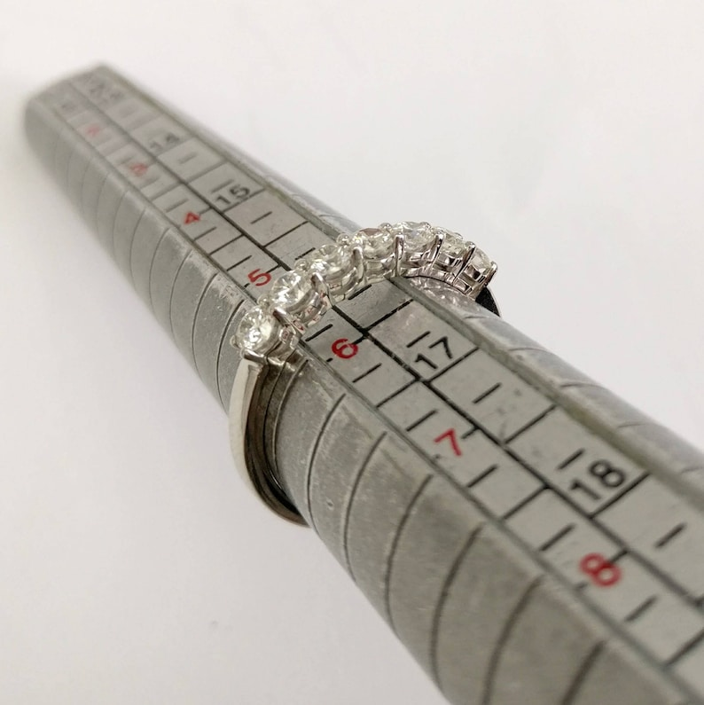 Affordable Diamond Stackable Diamonds Ring 0.60 Carat FSI1 Classic Diamond Ring Dainty Diamond Ring Wedding Ring Stacking Ring