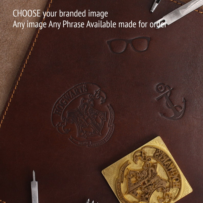 A6 Notebook Refillable Leather Journal Pen Case Set  Personalised A6 Notebook