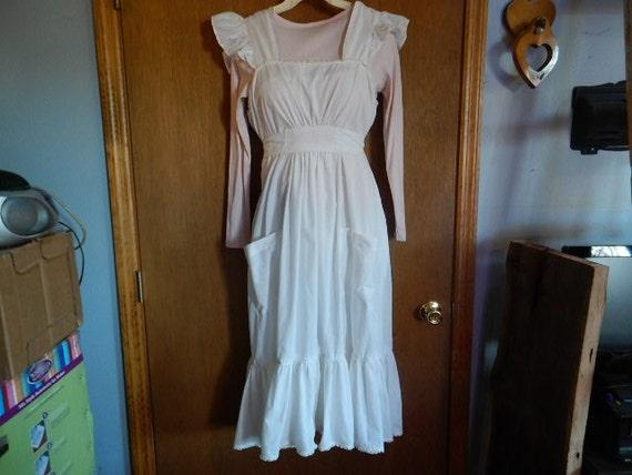 vintage white sundress