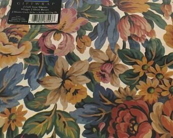 Vintage Wrapping Paper, Artfaire, Floral Design