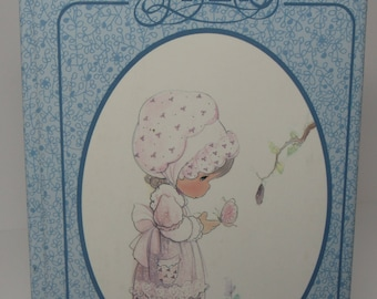Precious Moments Journal, Blue Precious Moments Lined Hardback Journal