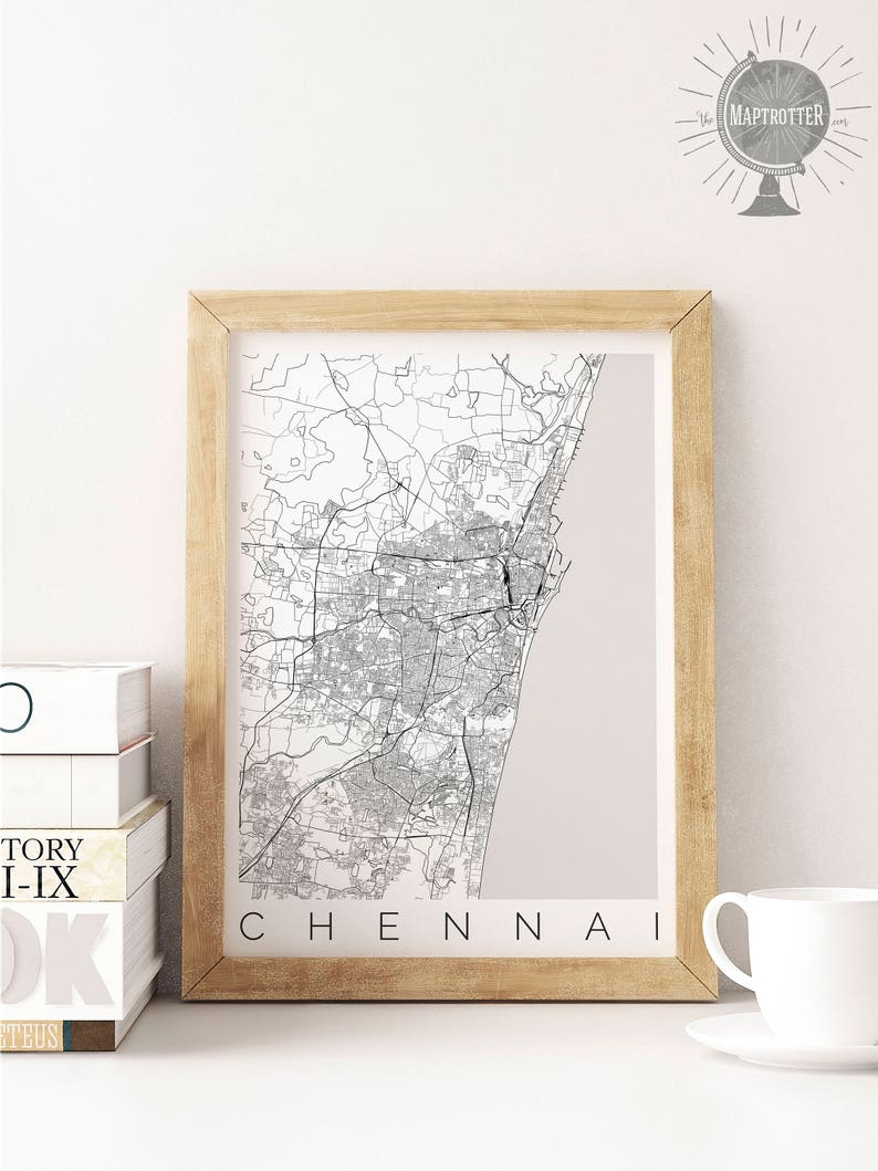Map of Chennai, India - Map of Madras - Travel Decor - Map ART - Chennai Madras On India Map on oslo norway on map, bora bora tahiti on map, medellin colombia on map, xiamen china on map, dublin ireland on map, bremen germany on map, madrid spain on map, port elizabeth south africa on map, copenhagen denmark on map, kuala lumpur malaysia on map, guangzhou china on map, bucharest romania on map, stockholm sweden on map, buenos aires argentina on map, phuket thailand on map, nice france on map, jakarta indonesia on map, shannon ireland on map, munich germany on map, cape town south africa on map,