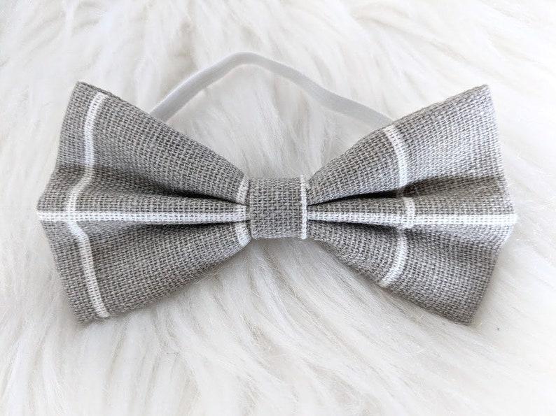 4c97182b9a38 Light Grey Premium Bow Tie pet rabbit bow tie pet rabbit | Etsy
