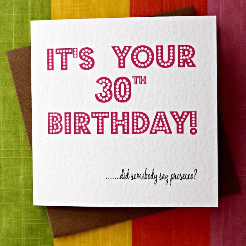Prosecco Prosecco Glamoureuze Zeggen 21e Verjaardag 30ste Etsy