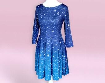 Dress plus size celestial   Etsy