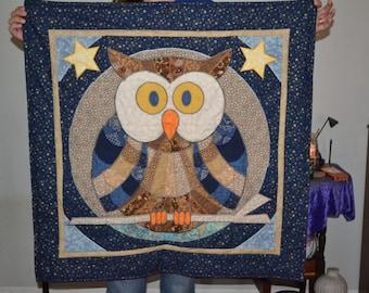 Owl Crazy Quilt