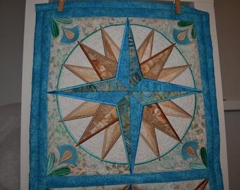 Mariner's Compass Table Runner