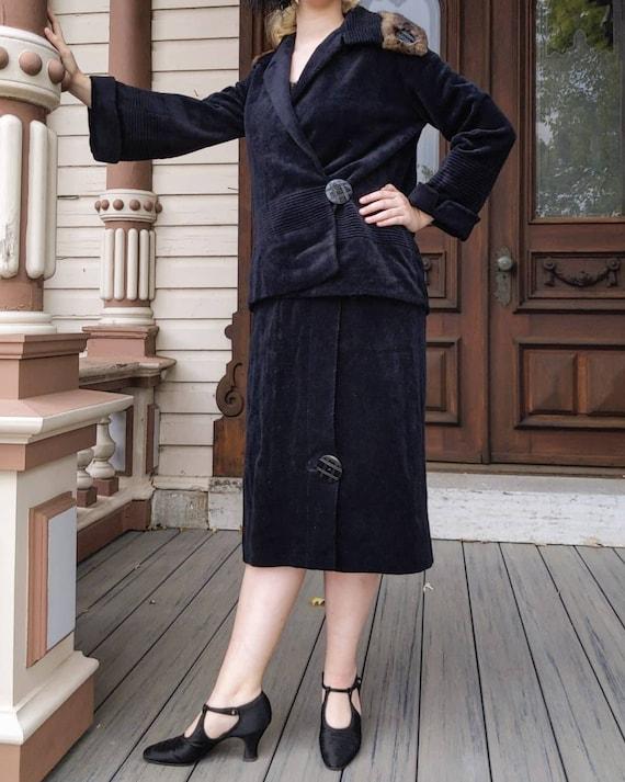 1920s Womens Suit