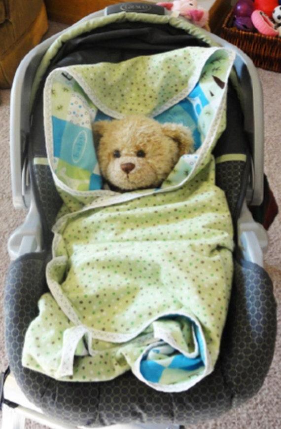 Car Seat Blanket Infant Flannel