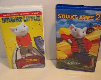 Stuart little & Stuart Little 2 VHS Tapes