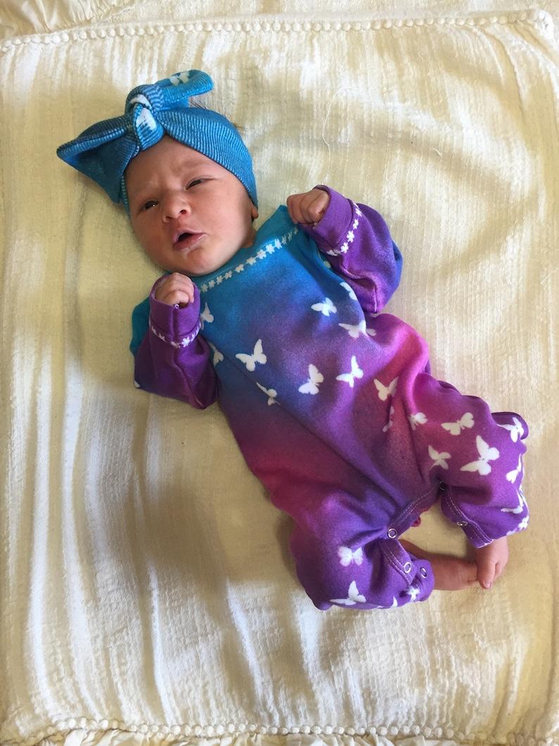37ce1cb98b98 Newborn Girl Clothes Tie Dye Baby Girl Clothes Baby Girl