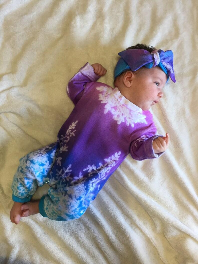 45733306df0f Newborn Girl Clothes Tie Dye Romper Baby Girl Bodysuit