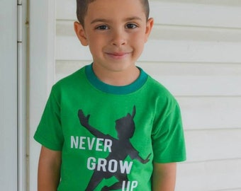 Never Grow Up Shirt