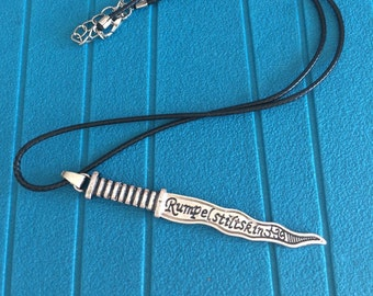 Collar dagger Rumpelstiltskin dark one once upon a time ouat