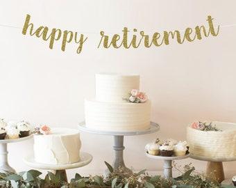 Retirement Party Decorations Etsy