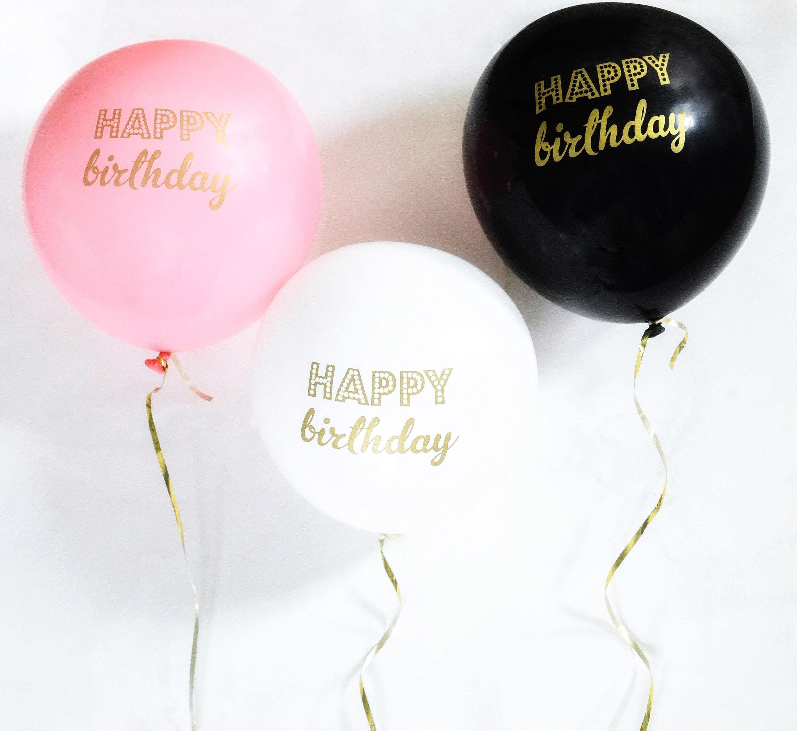 Happy Birthday Balloons Birthday Party Decorations 30th