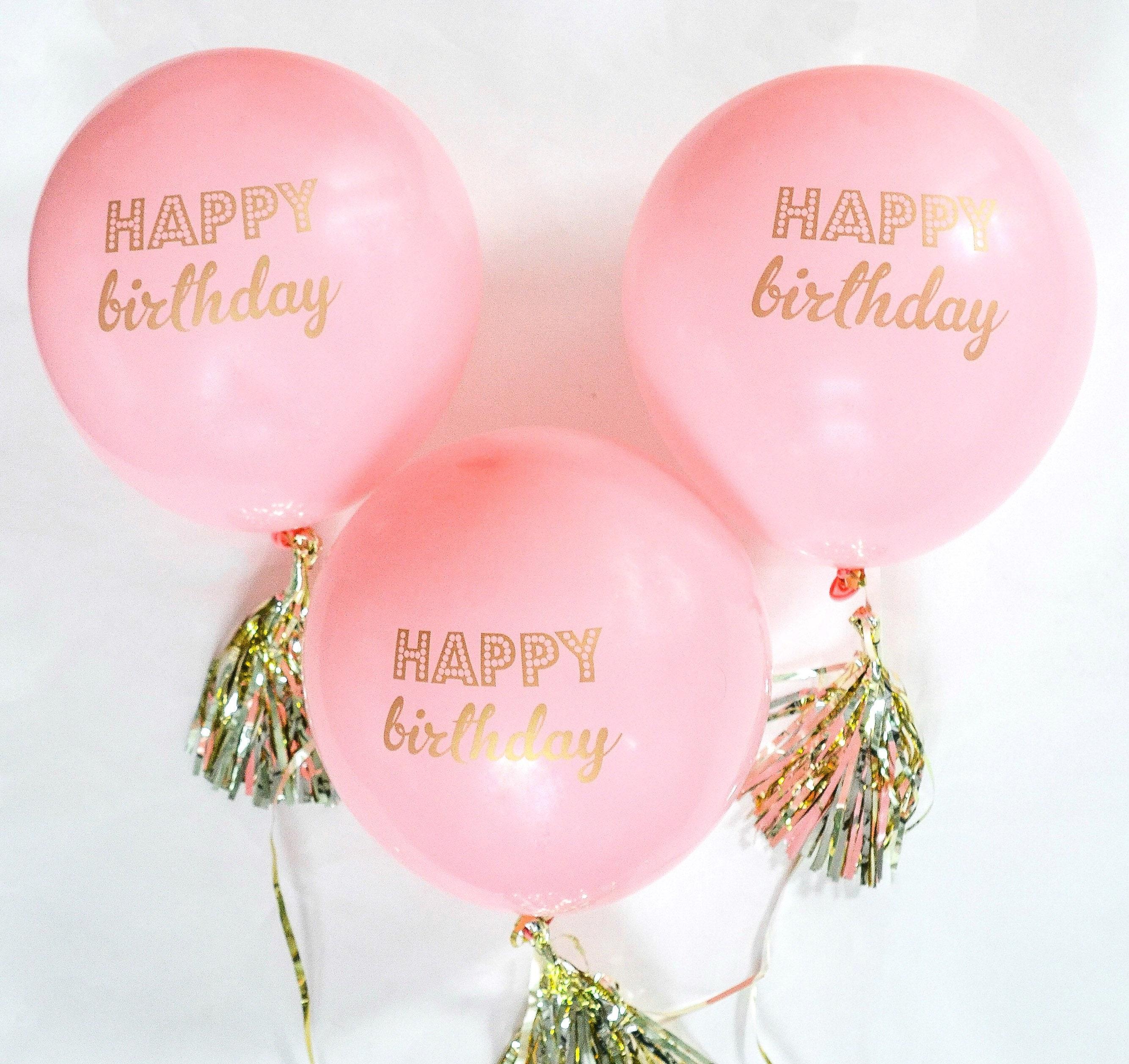 Happy Birthday Balloons Birthday Party Decoration 30th
