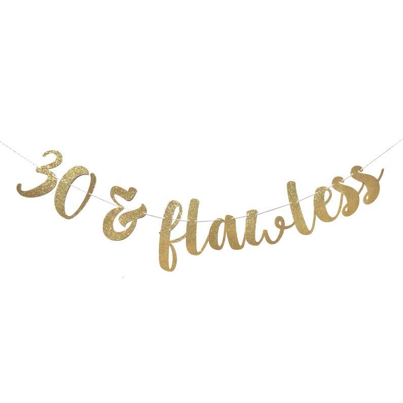 30 En Foutloos 30e Verjaardag Versiering 30 En Fabulous Etsy