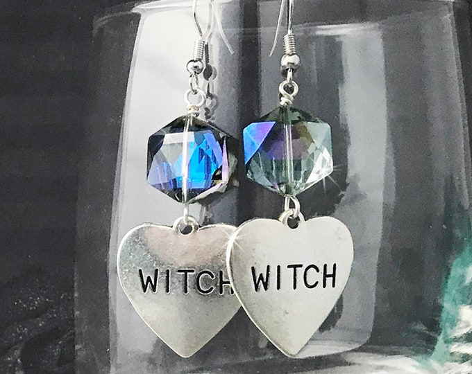 Lucky Last! Witchy Love dangle earrings