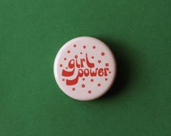 Girl Power Pin