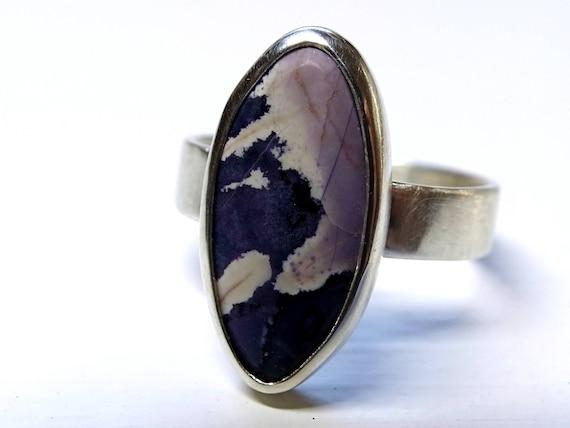 Lila Tiffany Stein Ring Silber Tiffany Stein Ring Utah Etsy
