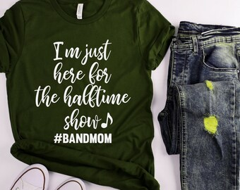 f658de83 Band Mom, Band, Band Mom Shirt, High School Band, Friday Night Lights, Drum  line, Halftime, Funny Mom, Halftime Show, Instrument, Music