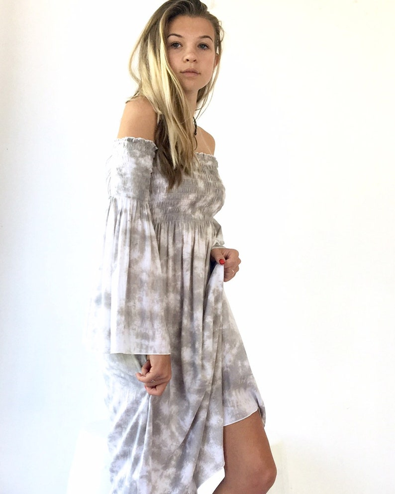 Dress  Midi  Vacation dress  Boho  Off the Shoulder