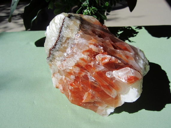 BANDED CALCITE Large Mexico 1268g