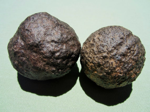 MOQUI MARBLES 'Male/Female' Pair  Shaman Stone 122g