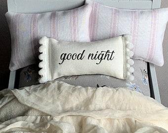 Dollhouse Pillow, Miniature Pillow, Dollhouse Bed Pillow, Dollhouse Accessory