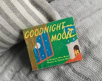 Goodnight Moon, Handmade Miniature Book, Dollhouse Book, Dollhouse Accessories