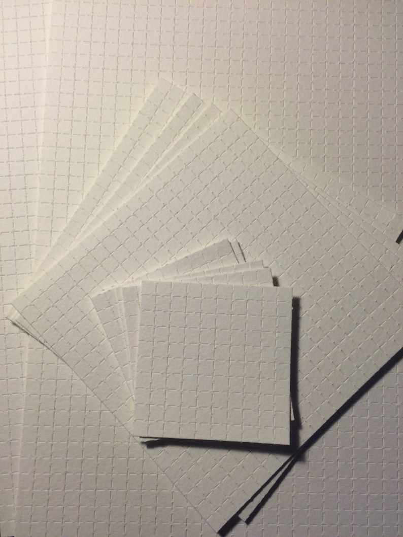 Blank Perforated Acid Free Blotting Paper HQ 300gsm