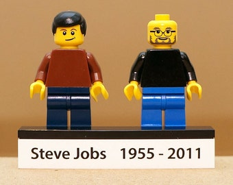 Remember Steve Jobs Edition / founder of Apple - exclusive minifigure