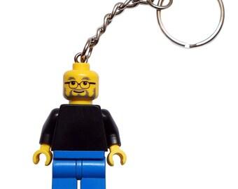 Steve Jobs as exclusive LEGO keychain