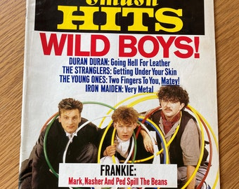 Rare Take That Smash Hits Magazine 1993 Calendar Poster Music Memorabilia Collectable marked With Members Birthdays Printed Autographs