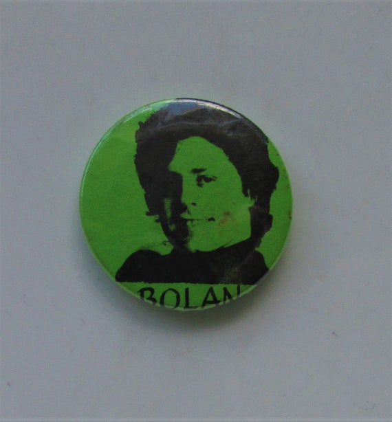 MARC BOLAN T. Rex Vintage Button Style Pin Badge F