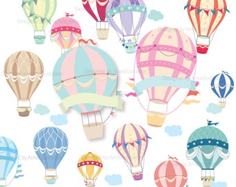 Hotairballoon1 - Baby Hot Air Balloon Clipart - Free Transparent PNG  Download - PNGkey