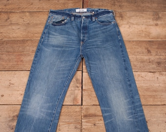 5d293242 Mens Vintage Levis LVC 501XX Buckle Back Selvedge Denim Jeans 34