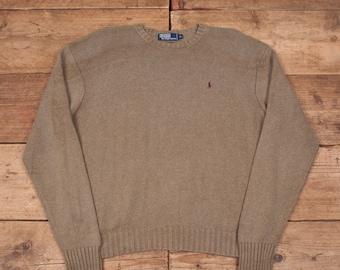 Men's Clothing Active Vintage Ralph Lauren Polo Sport Sportsman Sweater Vest Linen Silk Cotton Men Xl